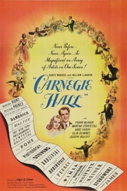 Another movie Carnegie Hall of the director Edgar G. Ulmer.