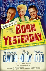 Born Yesterday movie cast and synopsis.