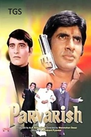 Another movie Parvarish of the director Manmohan Desai.