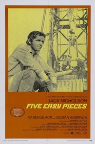 Another movie Five Easy Pieces of the director Bob Rafelson.