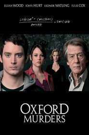 The Oxford Murders with Alex Cox.