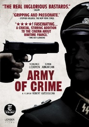 L'armee du crime with Virginie Ledoyen.