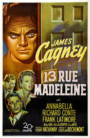 Another movie 13 Rue Madeleine of the director Henry Hathaway.
