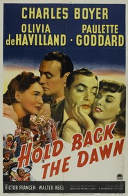 Hold Back the Dawn movie cast and synopsis.