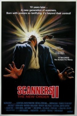 Scanners II: The New Order movie cast and synopsis.