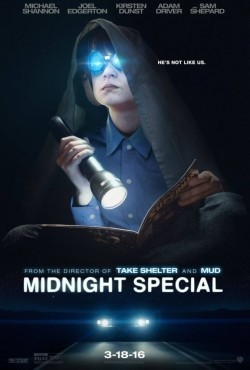 Another movie Midnight Special of the director Jeff Nichols.