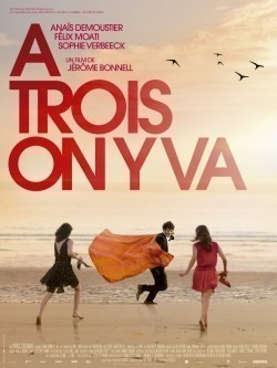 À trois on y va movie cast and synopsis.