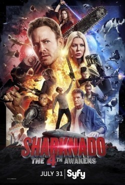 Sharknado 4: The 4th Awakens movie cast and synopsis.