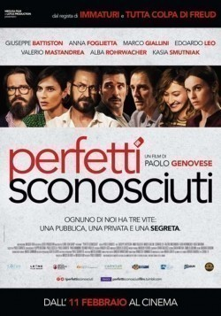 Perfetti sconosciuti movie cast and synopsis.