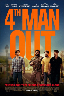 Fourth Man Out movie cast and synopsis.