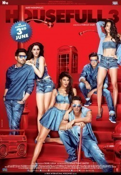 Housefull 3 movie cast and synopsis.