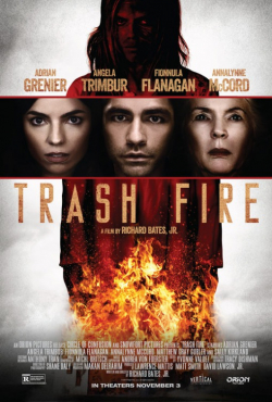Trash Fire movie cast and synopsis.