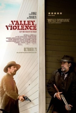 In a Valley of Violence movie cast and synopsis.