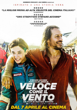 Veloce come il vento movie cast and synopsis.
