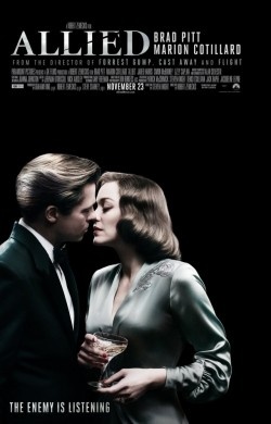Another movie Allied of the director Robert Zemeckis.