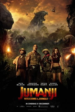 Jumanji: Welcome to the Jungle movie cast and synopsis.