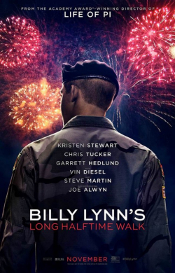 Billy Lynn's Long Halftime Walk movie cast and synopsis.